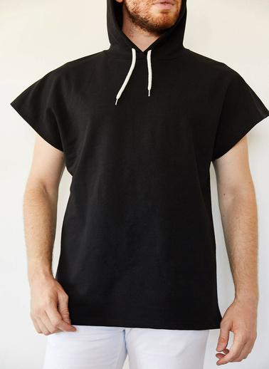 XHAN Indigo Kolsuz Sweatshirt 0Yxe8-44068-27 Siyah